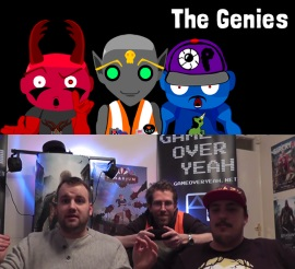 GameOverYeah.net crew as the Genies